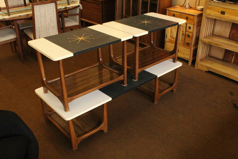 Mid Century Atomic Coffee and End Tables