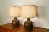 Modernist Lamps by Martz Marshall Studios - A Pair