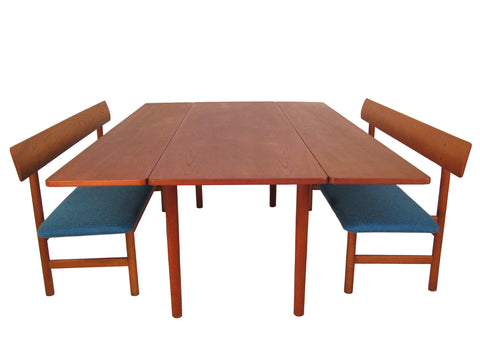 Borge Mogensen Fredericia Dining Set including Two #171 Benches