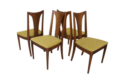 Set Four Broyhill Brasilia Dining Chairs