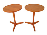 Hans C. Andersen Side Teak End Tables