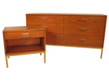 Drexel Suncoast 6-Drawer Dresser w/ Mirror and Nighstand