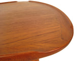 Teak Triangular Coffee/Occasional Table
