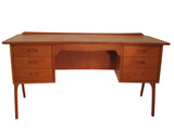 Teak Desk by Svend Madsen