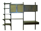 Mid-Century Wall Unit/Shelving/Desk