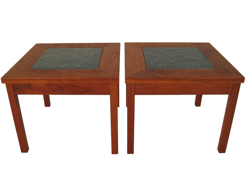 Pair of Tables by John Keal for Brown Saltman