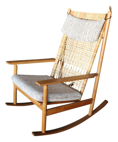 Hans Olsen Teak Danish Rocking Chair