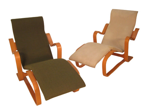 "Marcel Breuer ""Reclining"" Chairs for Knoll"
