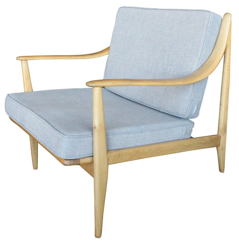 Mid-Century Danish Modern Lounge Chair