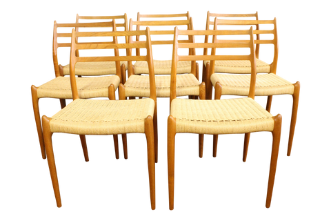 Moller Model 78 Chairs - Set (8)