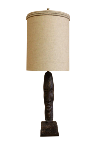 Rembrandt Monumental Tiki Head Lamp