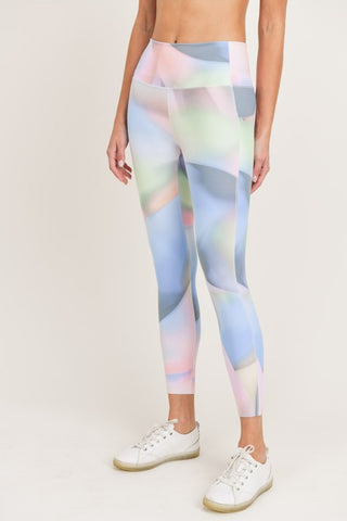 OMBRE KALEIDOSCOPE HIGH-WAIST LEGGINGS