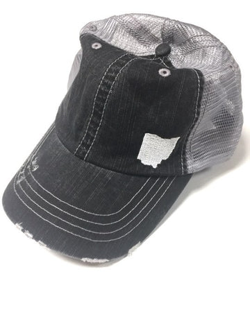 STAE OF OHIO TRUCKER HAT