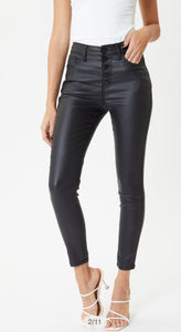 KANCAN FAUX LEATHER PANTS