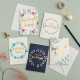 Box of 10, 15, 20 or 30 Welsh cards - birthday, thank you and more