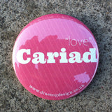 Cariad Pocket mirror (Love) - Draenog - 1
