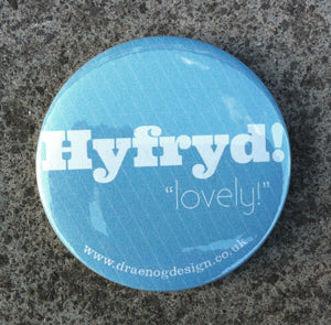 Hyfryd Pocket mirror (Lovely) - Draenog - 1