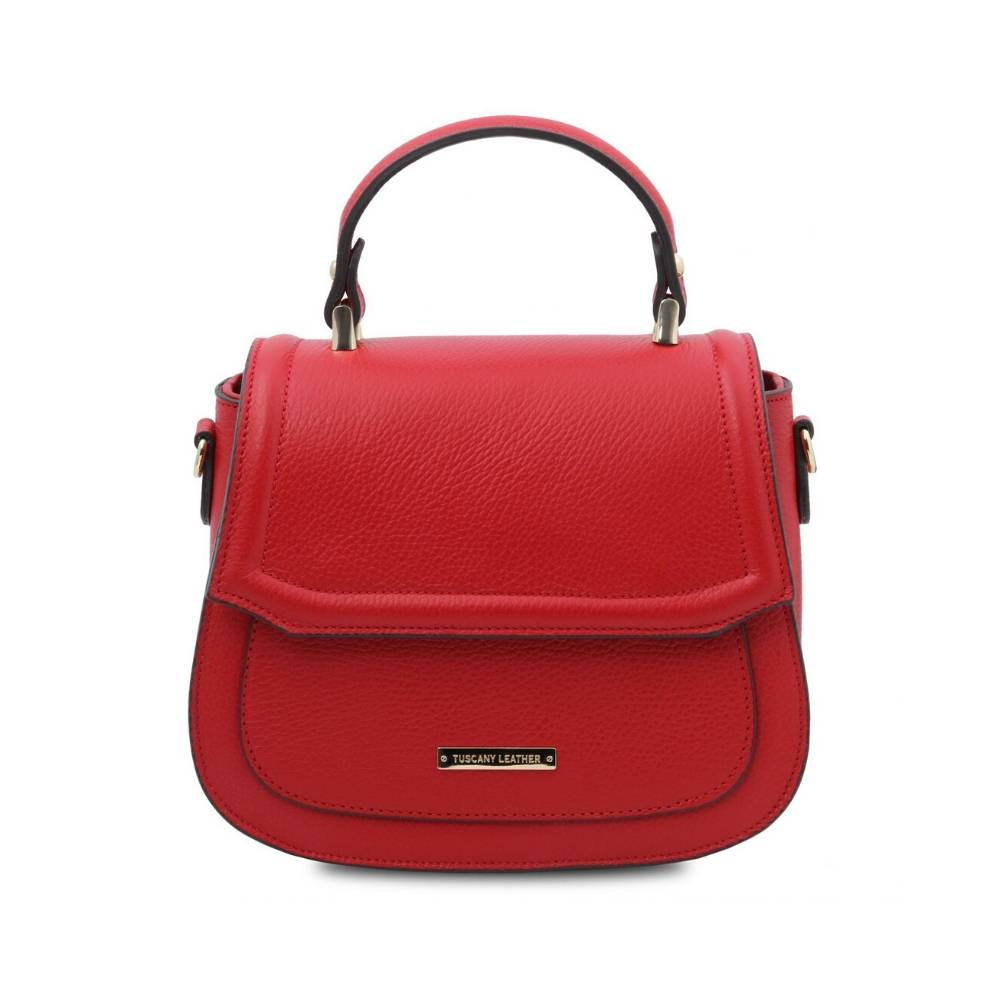 Piccola Leather Bag Red