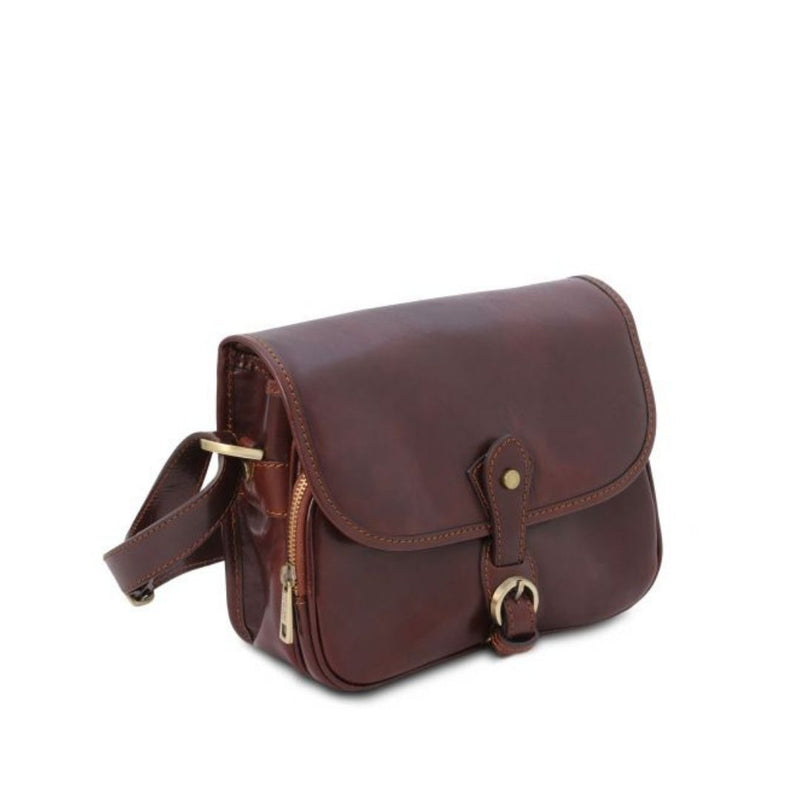 Alessia Leather Shoulder Bag
