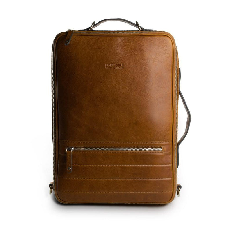 48hr Classic 2.0 | Old School Leather Backpack TEMPORARY FOREVERS