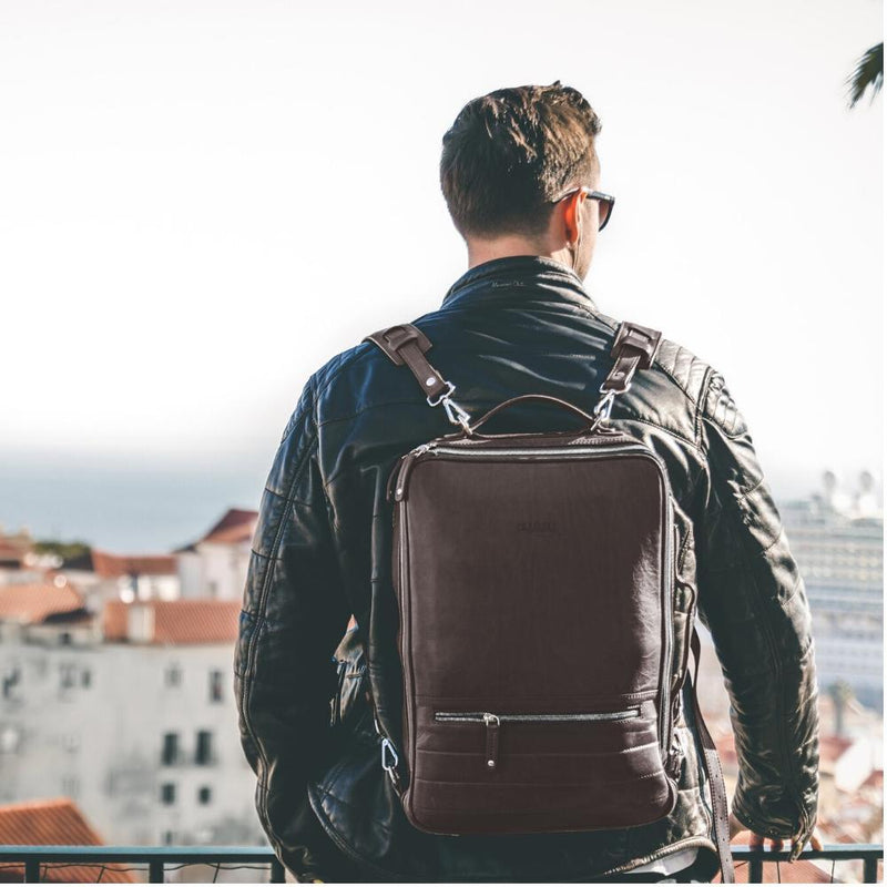 48hr Switch| All Leather Torino Leather Backpack TEMPORARY FOREVERS