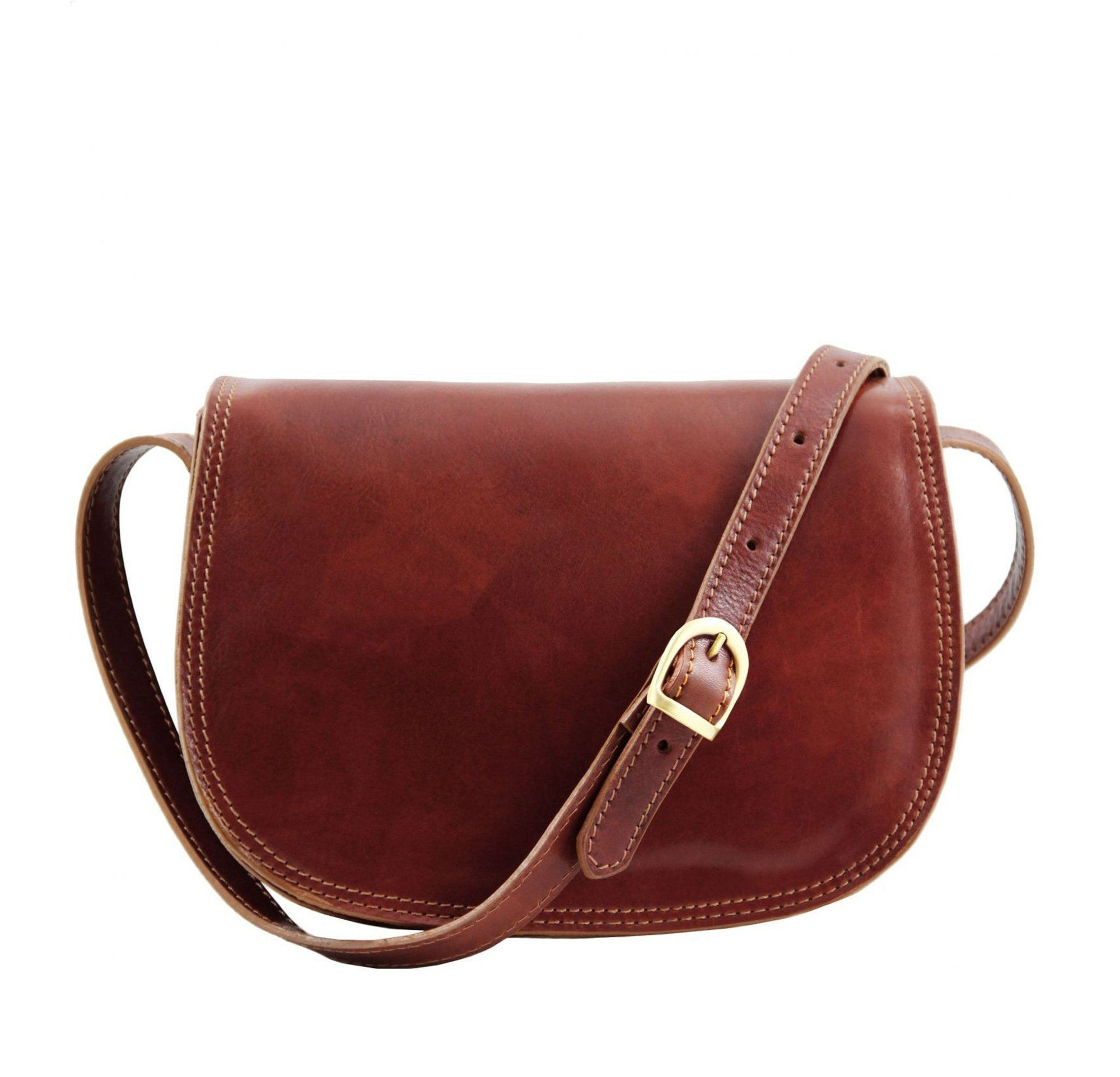 Isabella Leather Bag Leather Handbag TUSCANY LEATHER Brown