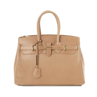 TL Classica Leather Handbag
