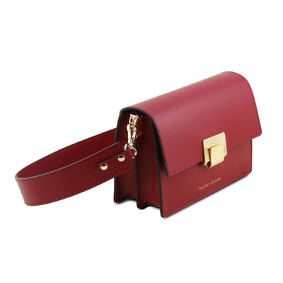 Adele Leather Clutch Leather Clutch TUSCANY LEATHER