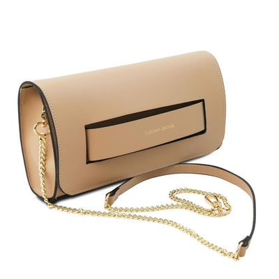 Sophia Leather Clutch Leather Clutch TUSCANY LEATHER
