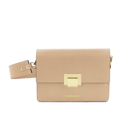 Adele Leather Clutch