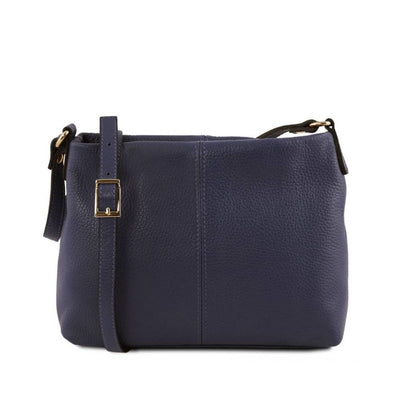 Mini T Soft Leather Shoulder Bag