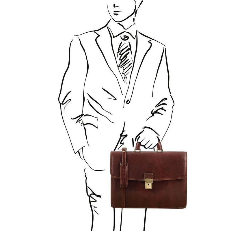 AMALFI BRIEFCASE