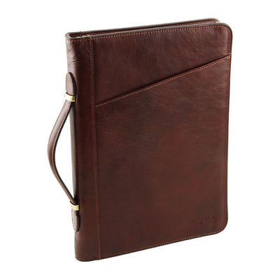 Costanzo Document Case Leather Document Case TUSCANY LEATHER