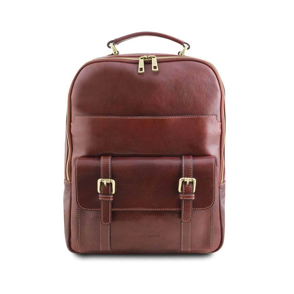 NAGOYA LEATHER LAPTOP BACKPACK