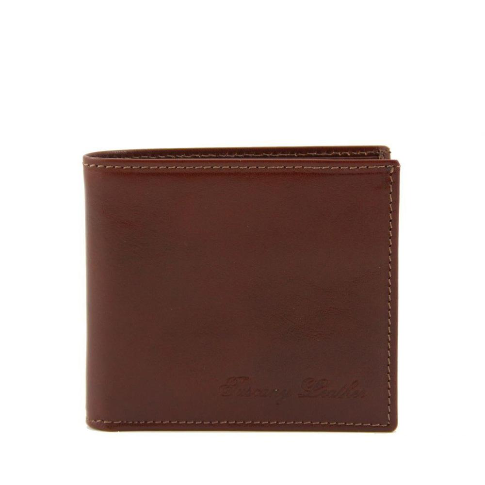2 FOLD LEATHER WALLET