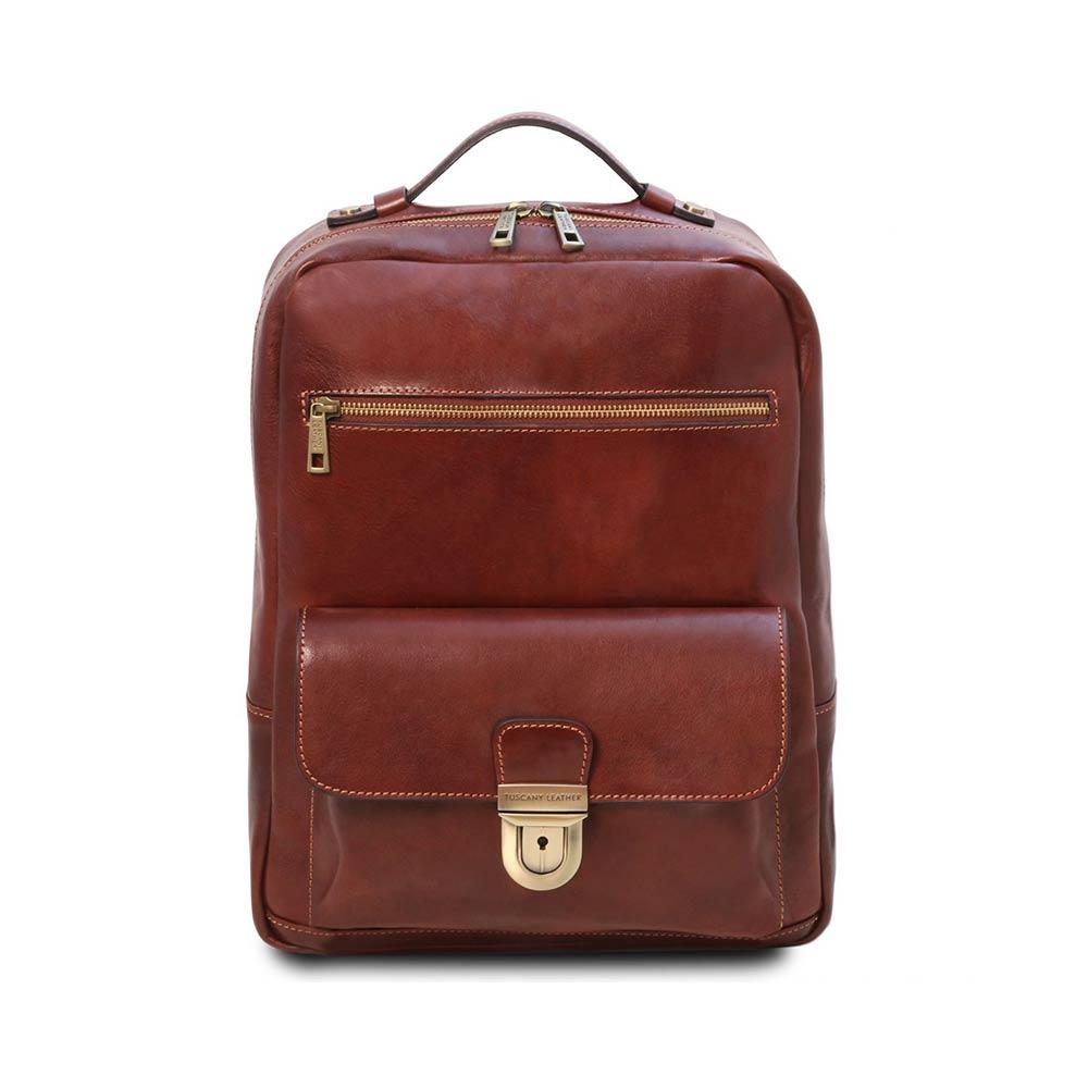 Kyoto Leather Laptop Backpack