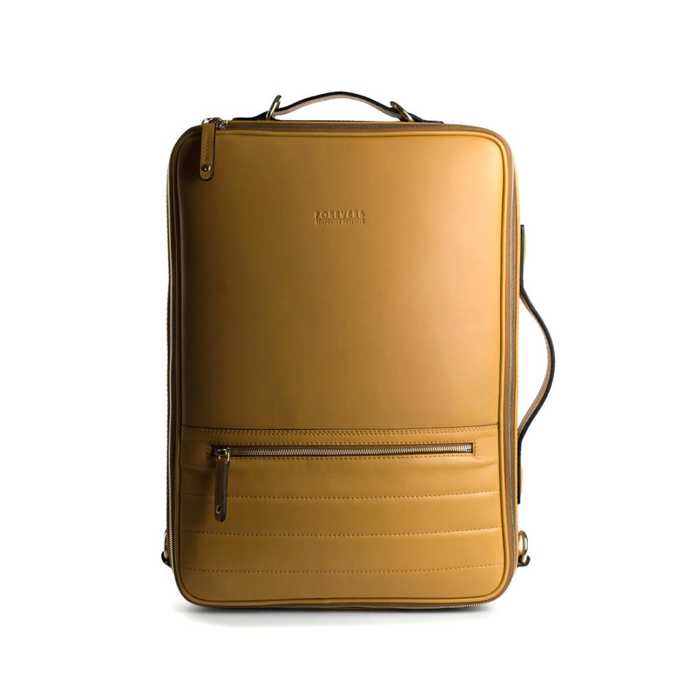 48hr Switch | All Leather Desert Leather Backpack TEMPORARY FOREVERS