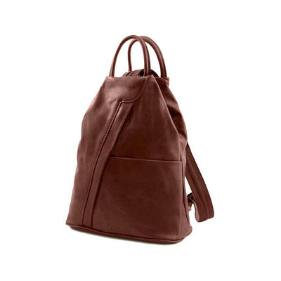 Shanghai Women's Leather Backpack Leather Backpack TUSCANY LEATHER