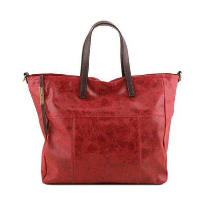 ANNIE LEATHER TL SMART SHOPPING BAG