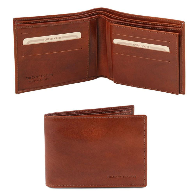 3 FOLD LEATHER WALLET
