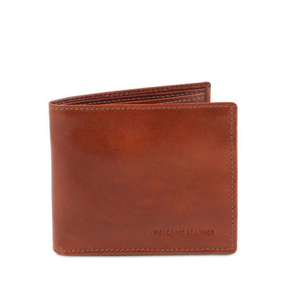 Exclusive 2 fold Leather Wallet Leather Wallet TUSCANY LEATHER