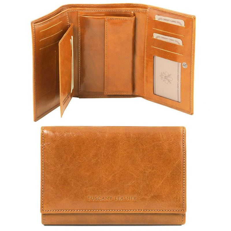 EXCLUSIVE LEATHER WALLET WOMENS
