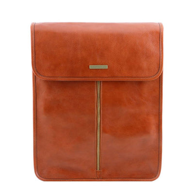 Exclusive Leather Shirt Case Leather Shirt Case TUSCANY LEATHER Honey
