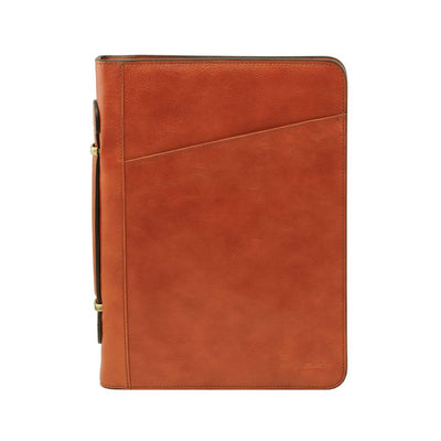 Costanzo Document Case Leather Document Case TUSCANY LEATHER Honey