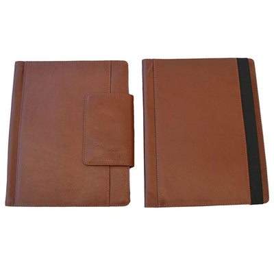 iPAD Genuine Leather Case Leather iPad Case EBB & FLOW 10.5 Inch Tan