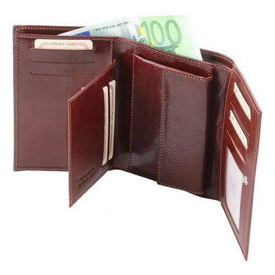Exclusive Women's Leather Wallet Leather Wallet TUSCANY LEATHER