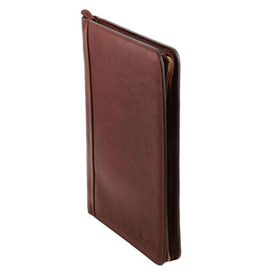 Ottavio Document Case Leather Document Case TUSCANY LEATHER