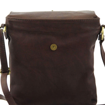 Morgan Leather Crossbody Bag Leather Shoulder Bag TUSCANY LEATHER