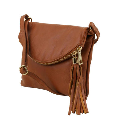 TL Young Leather Shoulder Bag Leather Handbag TUSCANY LEATHER