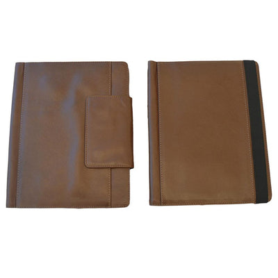 iPAD Genuine Leather Case Leather iPad Case EBB & FLOW 9.7 Inch Brown